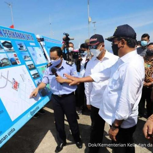 Menteri Trenggono Ajak Semua Pihak Geliatkan Pelabuhan Perikanan Untia