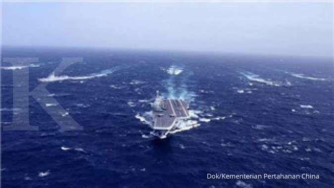 Terbuka kemungkinan bagi militer China menyerang Taiwan dari segala penjuru