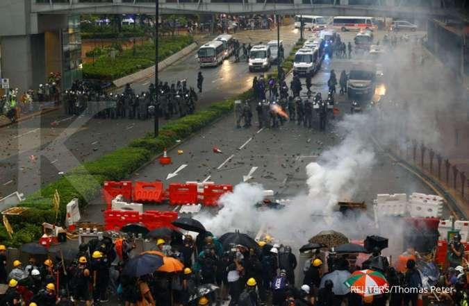 Berikut perjalanan UU Ekstradisi dan aksi protes tak berkesudahan di Hong Kong