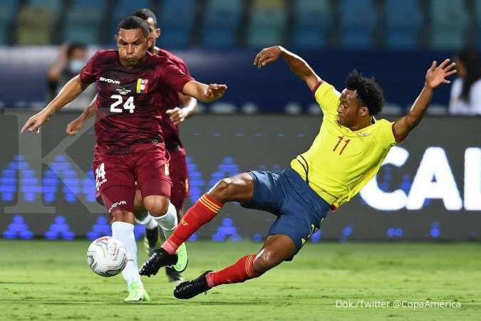Hasil Kolombia vs Venezuela di Copa America 2021