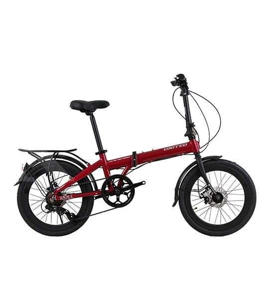 Sepeda lipat United Pact dibanderol dengan harga cukup terjangkau.