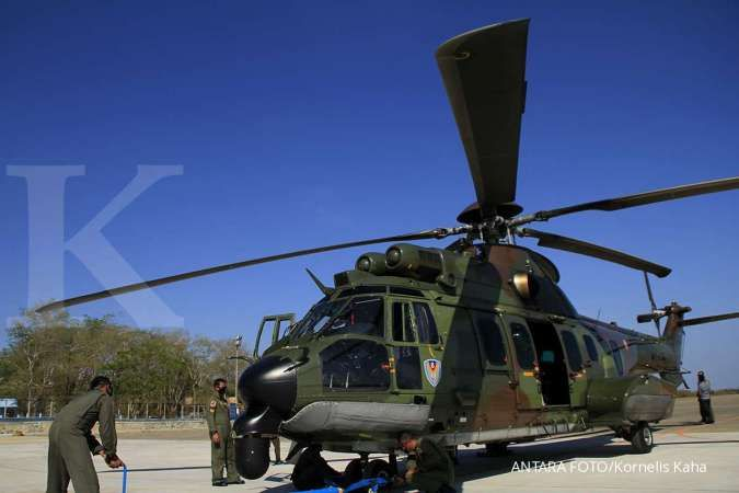 Pengamat militer menghitung belanja Alpalhankam mencapai US$ 124 miliar