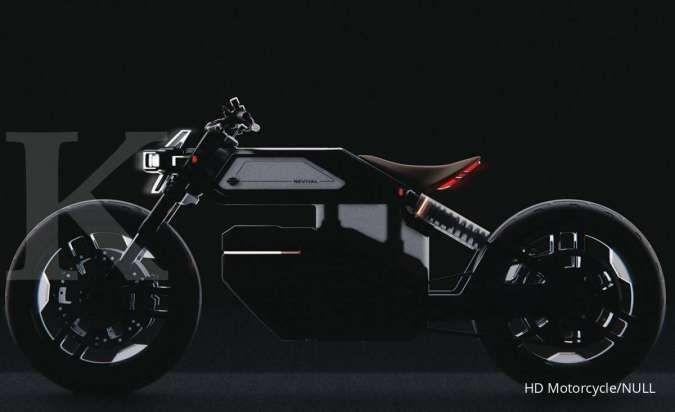 Begini penampakan Harley Davidson Revival, motor listrik untuk kaum milenial