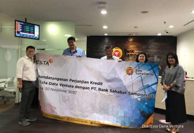Esta Dana Ventura dapat fasilitas kredit dari Bank Sahabat Sampoerna Rp 200 miliar