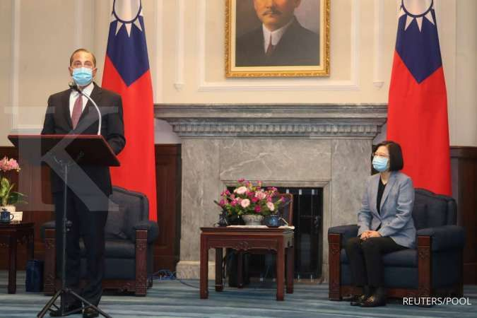Menkes AS sampaikan dukungan kuat ke Taiwan dalam lawatannya ke Taipei