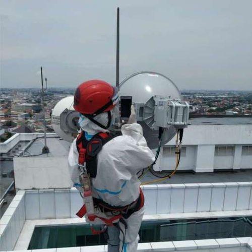 Teknologi Mutakhir Huawei Wujudkan Sistem Keselamatan Kerja Nihil Kecelakaan, Dukung Konektivitas Selama Pandemi