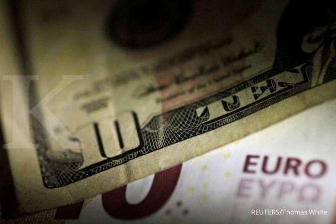 Banjir sentimen positif di AS, pasangan EUR/USD bakal lanjut tertekan