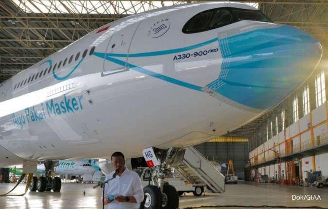 Didenda Rp 1 miliar oleh KPPU, ini respons Dirut Garuda Indonesia (GIAA)