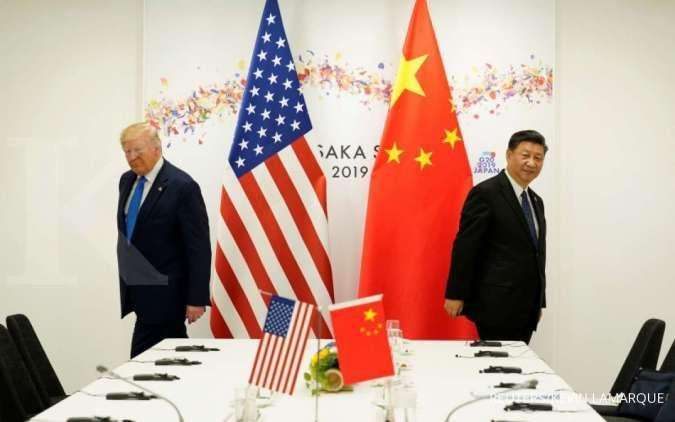 Donald Trump kurang dipercaya di negara-negara maju dibanding Xi Jinping