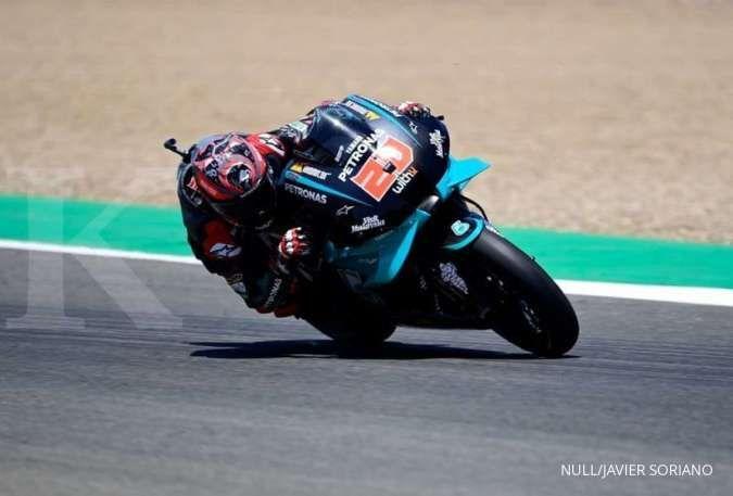 Quartararo mengincar podium juara di MotoGP Aragon, Spanyol