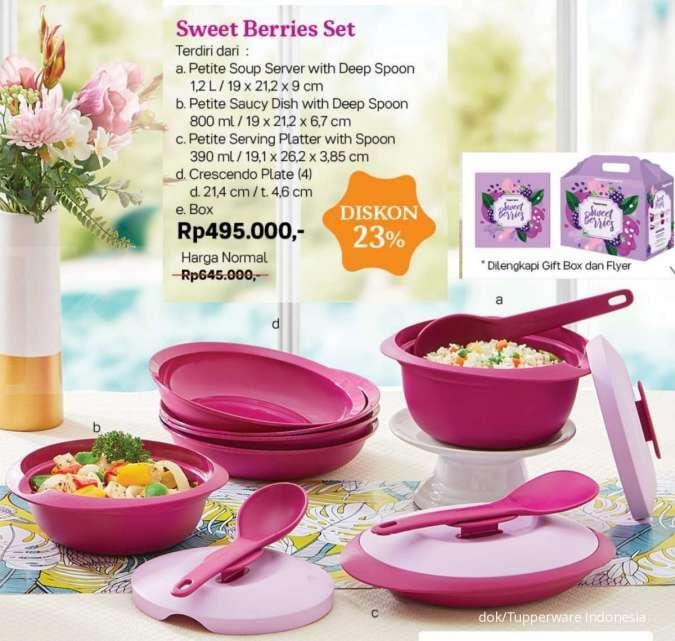Katalog promo Tupperware bulan Oktober 2020 edisi perabotan makan, ada potongan harga
