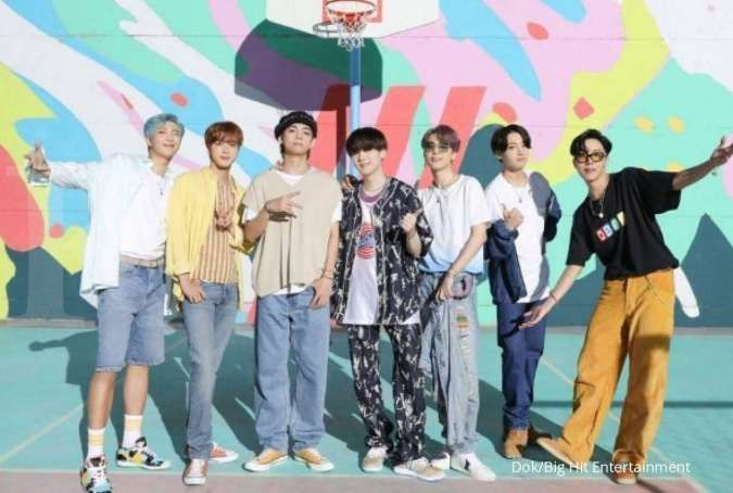 BTS nomor satu Billboard Hot 100, Presiden Moon Jae In bangga dan ucapkan selamat
