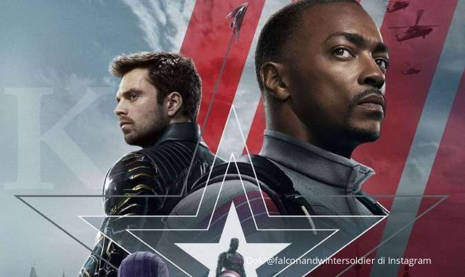 Serial TV The Falcon and The Winter Soldier di Disney+.