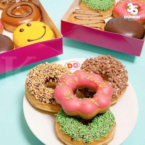 Harga hemat! Promo Dunkin Donuts 12 April-12 Mei 2021, 12 Donuts Classic Rp 87.000