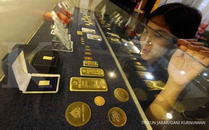 Harga emas 24 karat Antam hari ini Rp 912.000 per gram, Minggu 28 Juni 2020