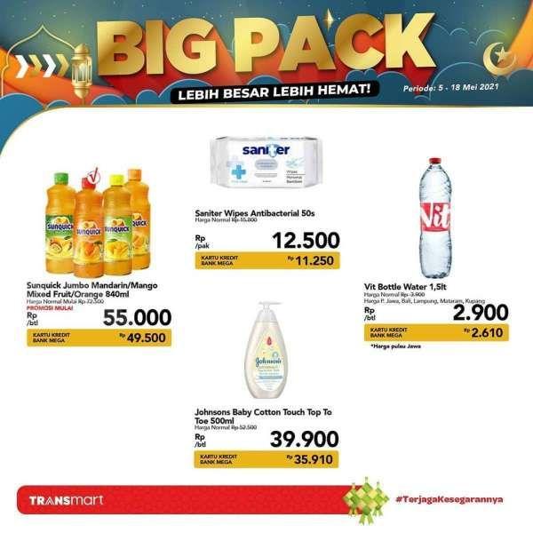 Simak promo Transmart Carrefour 15 Mei 2021, penawaran Big Pack saat weekend!