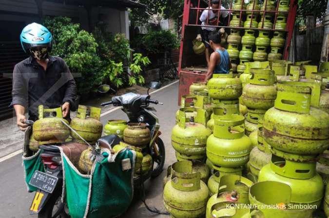 Pemerintah mengakui subsidi gas LPG 3 kg dan subsidi listrik tidak tepat sasaran