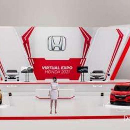 Honda Jakarta Center Gelar Pameran Virtual, Virtual Expo Honda