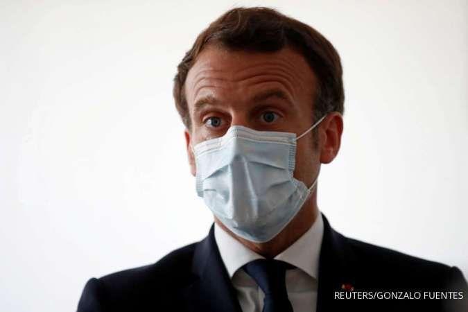 Krisis diplomatik, Macron tarik duta besar Prancis dari AS dan Australia