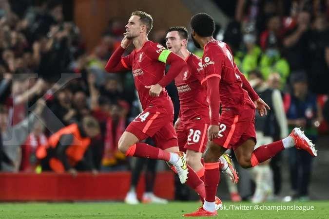Jadwal Liga Inggris Liverpool vs Crystal Palace