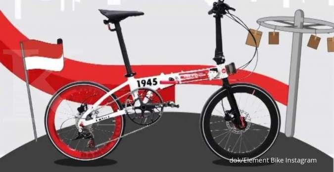 Ada diskon! Ini harga sepeda lipat Foldx Lite X Damn I Love Indonesia terkini