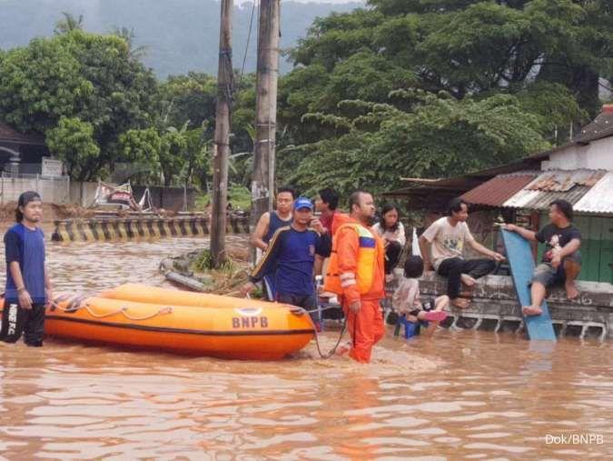 Banjir Merendam Kota Cilegon Di Tengah Pandemi Virus Corona Covid 19