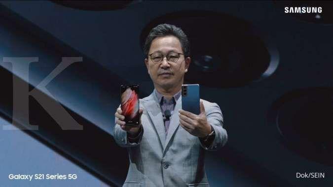 Samsung luncurkan Galaxy S21 5G, S21+ 5G, dan S21 Ultra 5G, ini daftar harganya