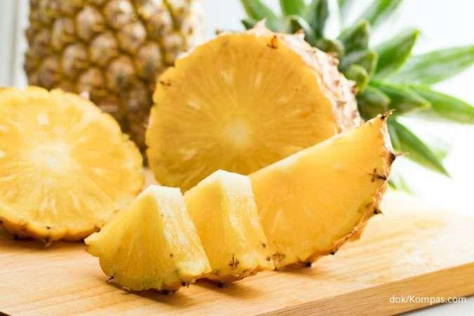 8 Manfaat nanas untuk kesehatan bila dikonsumsi secara rutin
