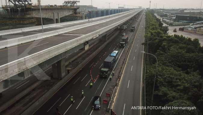 Turun 61%, Jasa Marga catat 367.703 kendaraan meninggalkan Jakarta jelang Lebaran