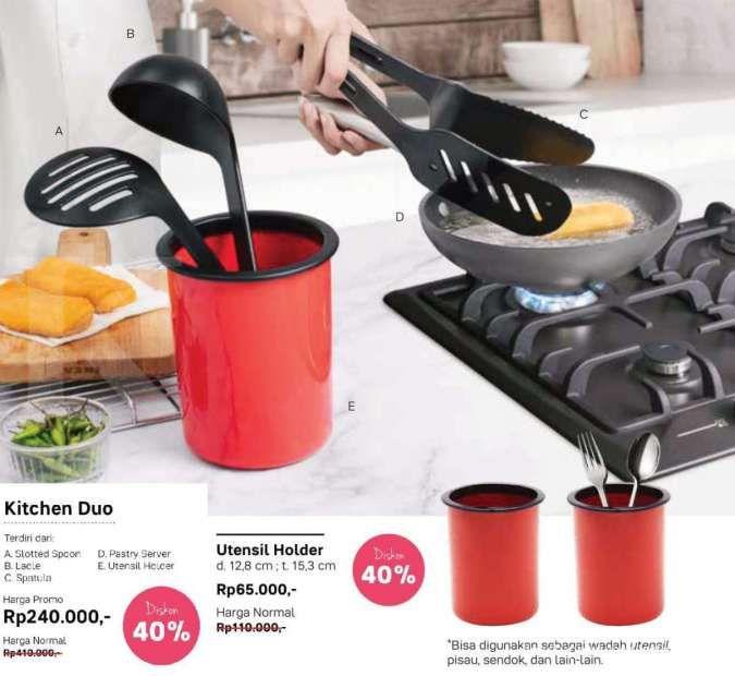 Promo Tupperware November 2020, gratis voucher belanja & diskon 40% alat masak