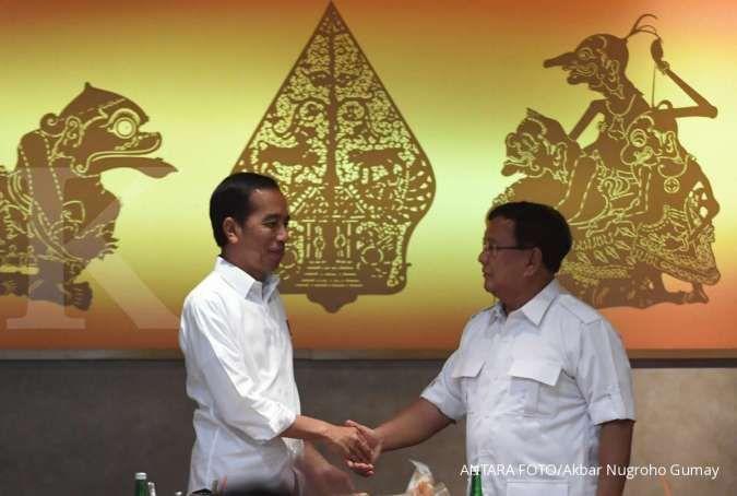 Jokowi akhirnya bertemu Prabowo pasca pilpres, sinyal rekonsiliasi?