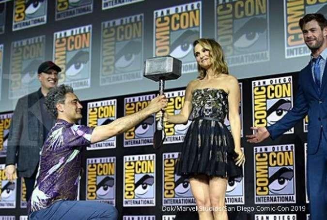 Natalie Portman mulai olahraga untuk peran superhero wanita di film Thor: Love and Thunder.