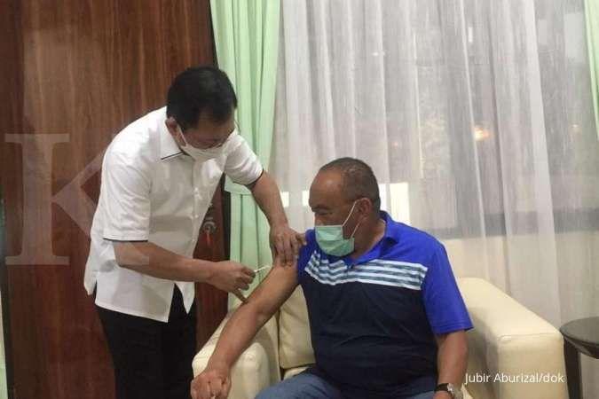 Disuntik vaksin nusantara, Aburizal Bakrie yakin dengan Terawan & pernah utang nyawa