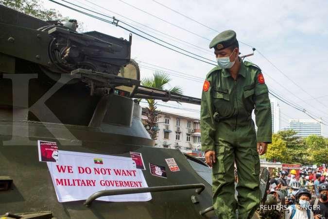 Uni Eropa mempertimbangkan untuk memberi sanksi terhadap junta militer Myanmar
