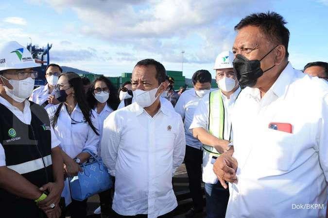 Kunjungi KEK Bitung, Menteri Investasi Bahlil berkomitmen bawa investor