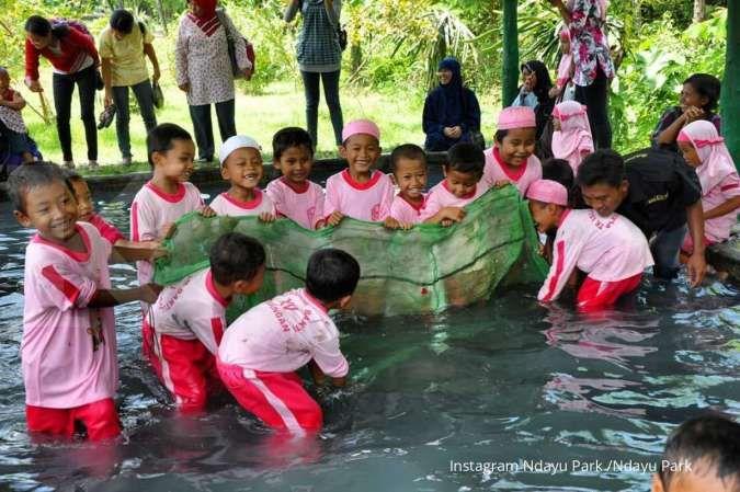 Ndayu Park, taman edukasi di Kota Sragen yang ramah anak