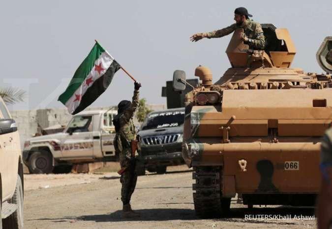 Militer AS dan tentara Suriah adu tembakan, ini akibatnya