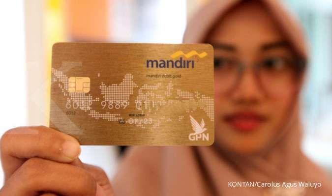 Proses implementasi kartu debit chip Bank Mandiri terhambat pandemi corona