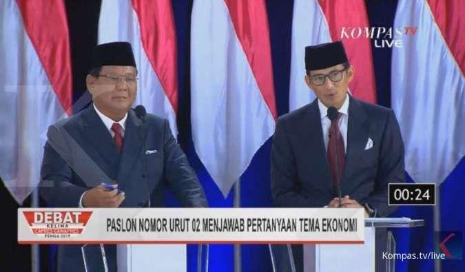 Prabowo: Jangan-jangan infrastruktur malah mempermudah barang impor masuk Indonesia