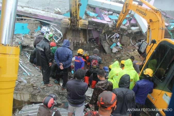Hingga Sabtu, 189 orang dirawat akibat gempa Mamuju, 637 orang luka ringan di Majene