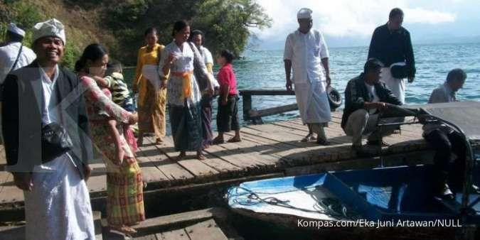 Dermaga boat di Desa Trunyan
