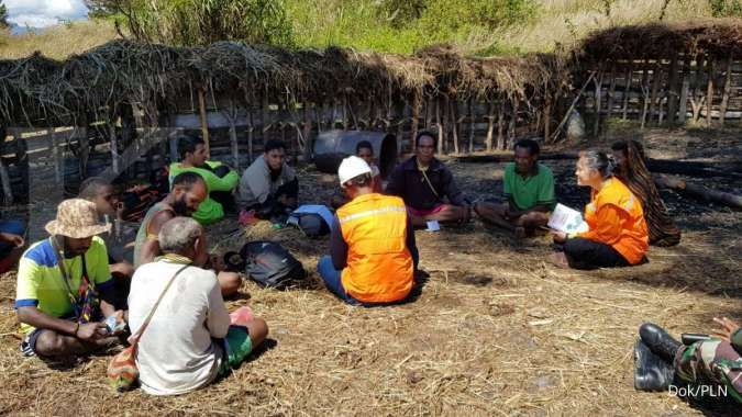 PLN berusaha mempercepat penyediaan tabung listrik di Papua