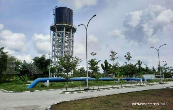 Bakal layani air minum untuk 200.000 warga, progres SPAM Durolis tahap I capai 35,2%
