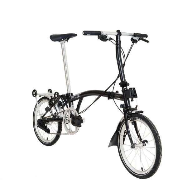 Elegan, harga sepeda lipat Element PIkes Gen 2 Spinel Black cukup terjangkau