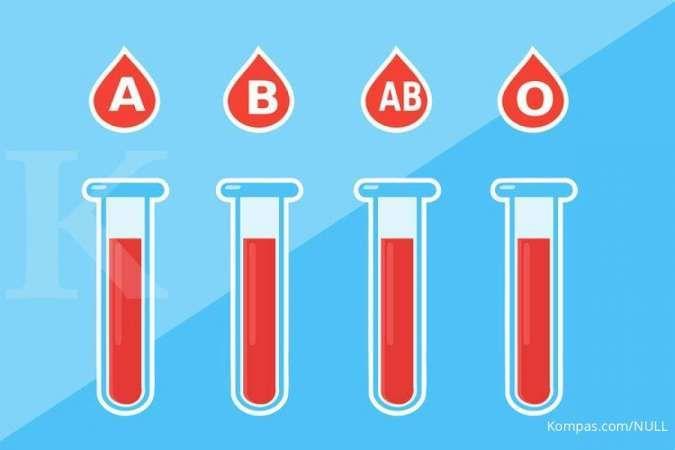 Golongan darah ini punya risiko infeksi Covid-19 lebih rendah