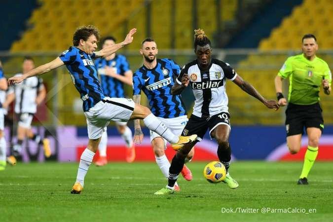 Parma vs Inter Milan: Aksi cemerlang Alexis Sanchez menangkan Nerazzurri 1-2