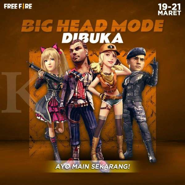 Big Head Mode Garena Free Fire