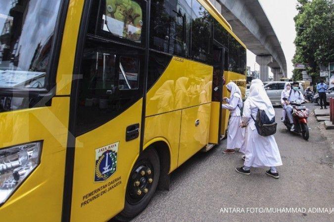 Jadwal bus gratis Jabodetabek hari ini untuk mengurai penumpukan penumpang KRL