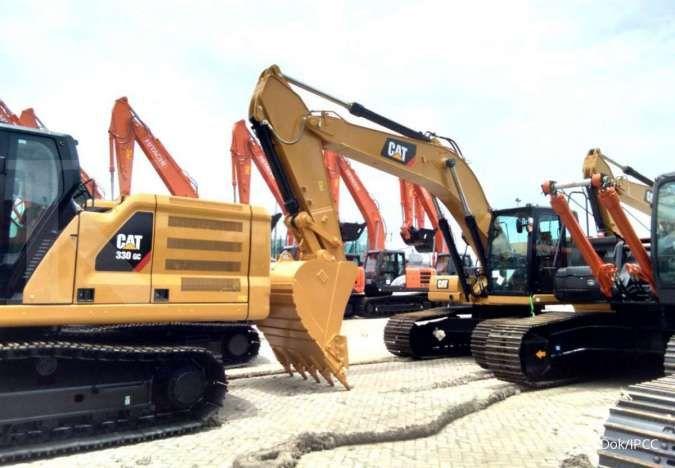 Bongkar muat alat berat dan sparepart Indonesia Kendaraan Ternimal (IPCC) melonjak