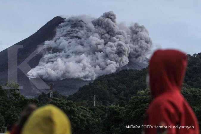 Siaga, erupsi eksplosif Gunung Merapi masih berpeluang terjadi